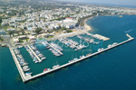 Marina of Kos View from Air